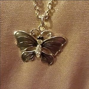 "Butterfly 20"" necklace."